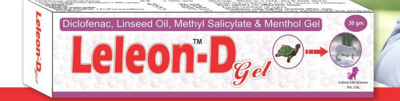 Diclofenac Diethylamine 1.16% + Linseed Oil 3% + Methyl Salicylate 10% + Menthol 5%+ benzyl alcohol 1%(preservative)